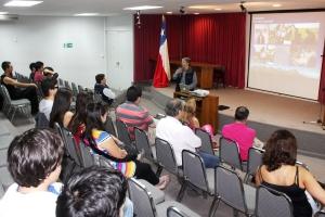 La actividad fue organizada por el PVUE y la Corporación de Desarrollo Productivo