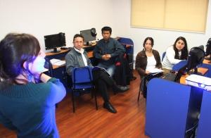 Un moderno laboratorio con tecnología de punta, tiene el Centro de Idiomas de la UA