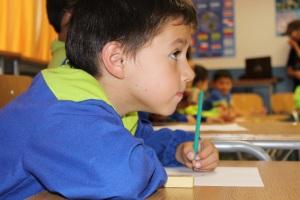 Los niños del Colegio Netland, fueron los primeros participar de la primera etapa del proyecto