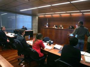 Una sala de simulación de juicio oral, implementará la Facultad de Ciencias Jurídicas, para los estudiantes