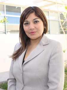 Yenny  Pinto Secretaria de Vinculación de la Facultad de Ciencias Jurídicas
