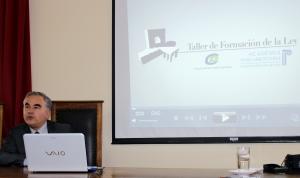 Patricio Velásquez Weisse, abogado Secretario  de Comisiones de la H. Cámara de Diputados