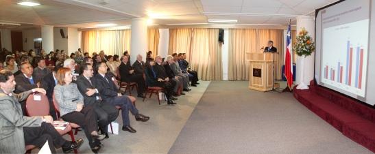 En el marco de un nuevo aniversario institucional el Rector Luis ALberto Loyola realizó la Cuenta de Gestión 2012