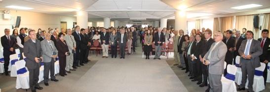 En el marco del aniversario, se entregó un reconocimiento especial a los funcionarios con más años de servicio