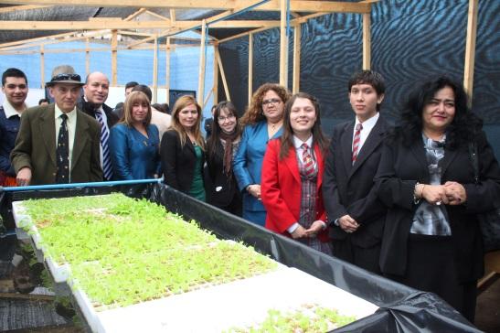 El Huerto Hidropónico es el proyecto de los estudiantes del LECYA que ganó la última versión del Torneo de Emprendimiento de la UA
